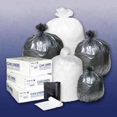 10 Gallon Clear 24x24 liner 1000