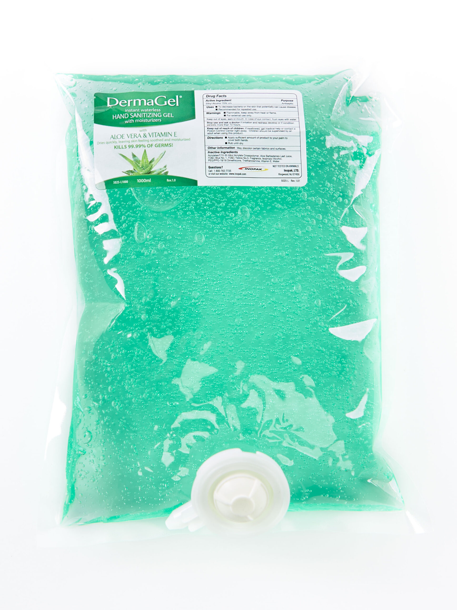 Hand Sanitizer Refill Bag by Industrial Solutions