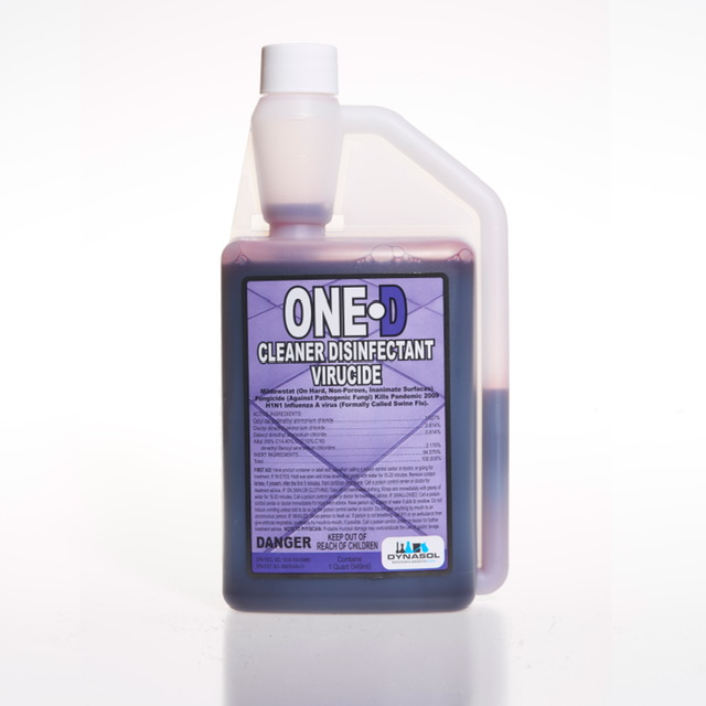One D Cleaner Disinfectant Virucide